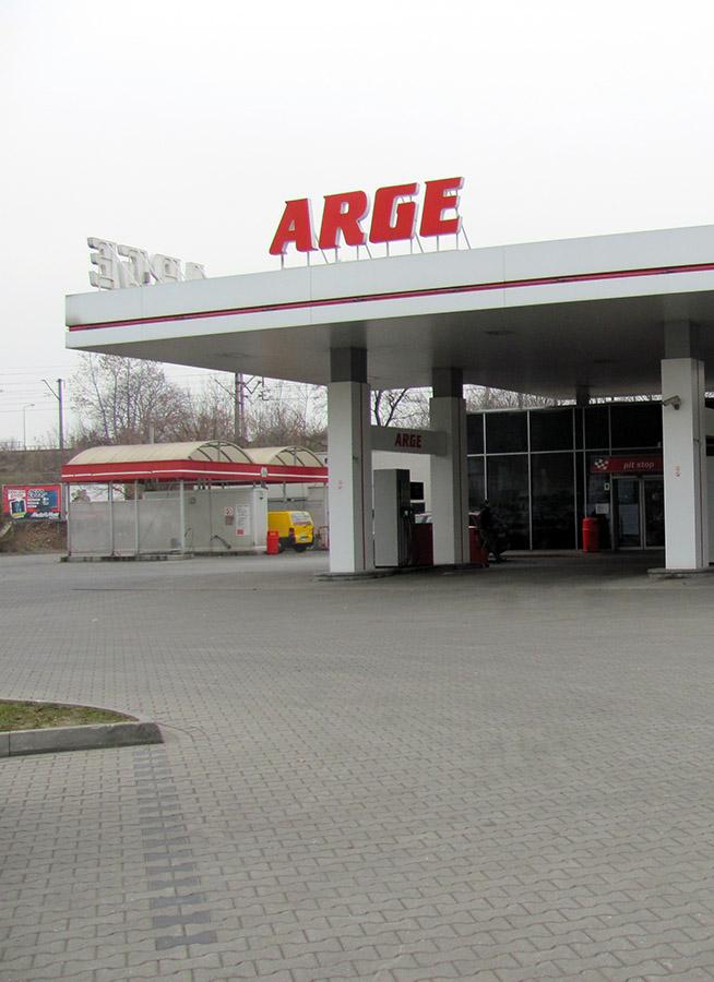 Stacja ARGE Kraków - SŁAWPOL