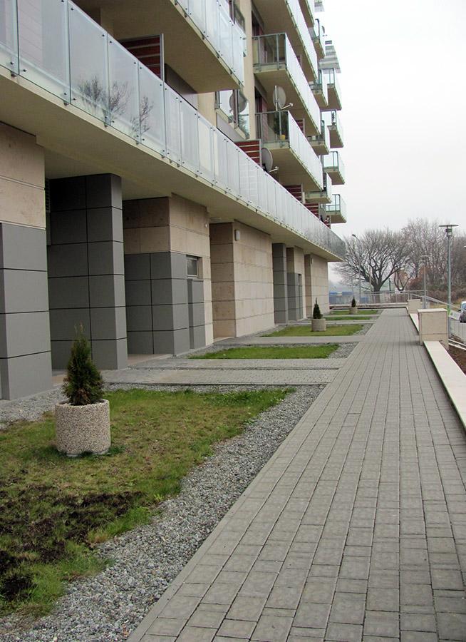 Budynki mieszkalne ul. Wielicka Kraków - SŁAWPOL